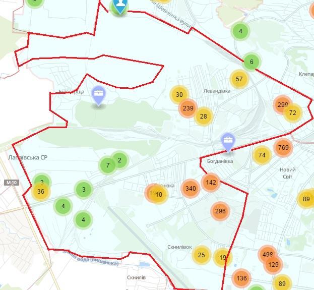 Крадіжки, шахрайство, грабежі: мапа найнебезпечніших районів Львова фото 2
